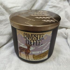 Bath and Body Works Campsite Coffee 3 Wick Candle